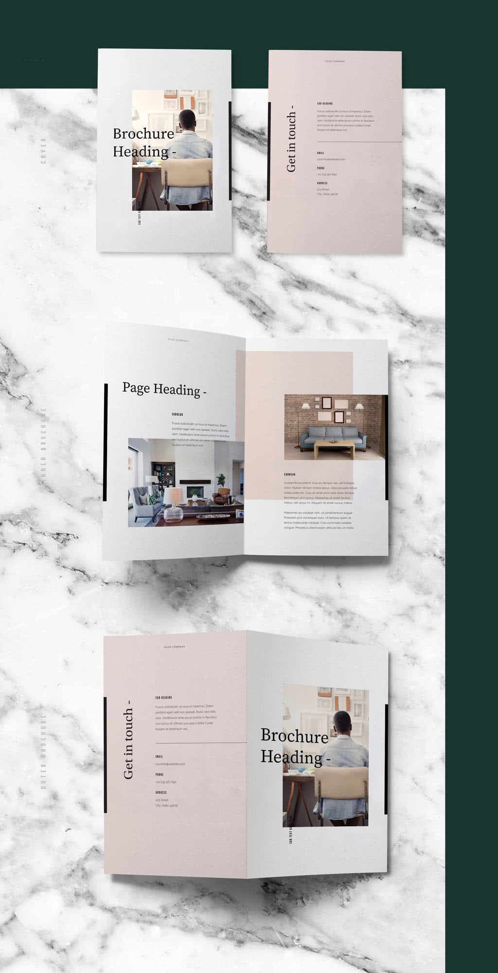 Pastel Brochure Preview