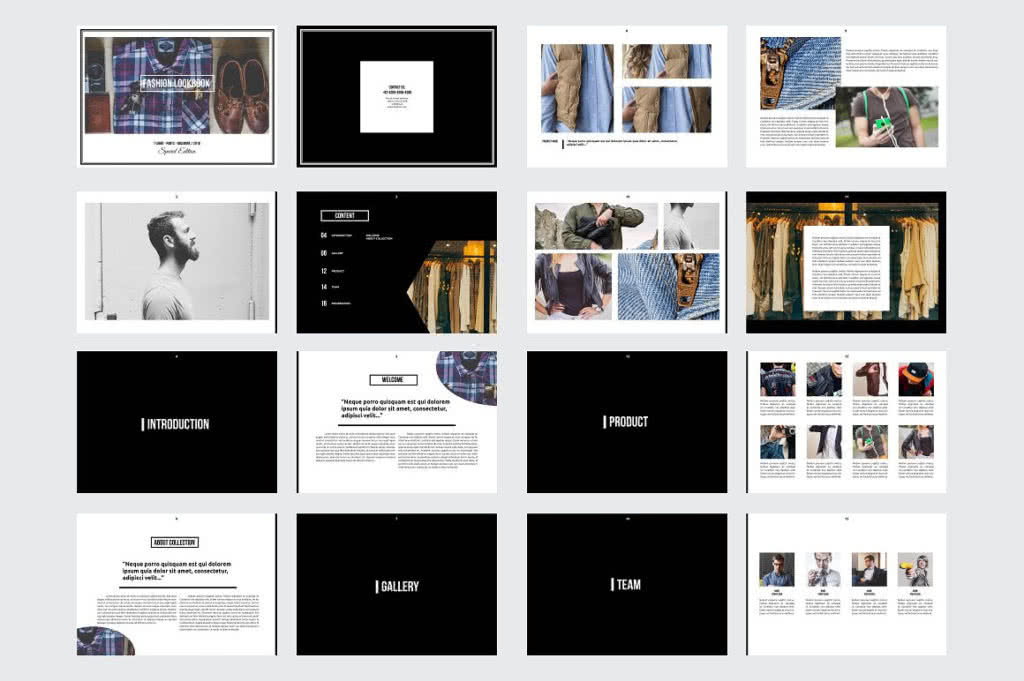 Fashion-ready Template Preview