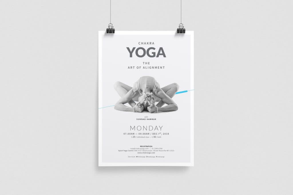 Event Flyer InDesign Template Preview
