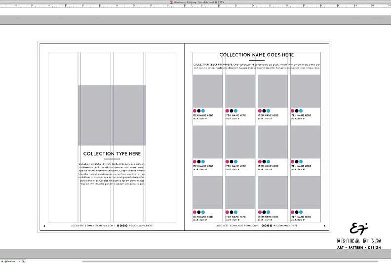 InDesign Catalog Templates Preview