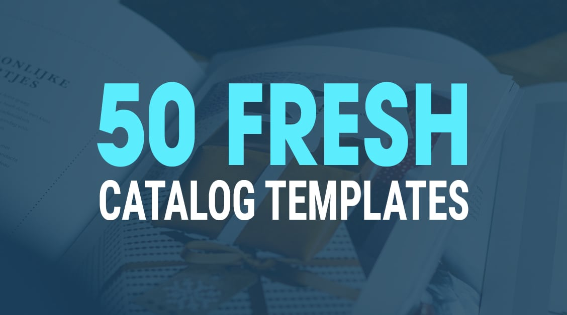 50 Fresh InDesign Catalog Templates