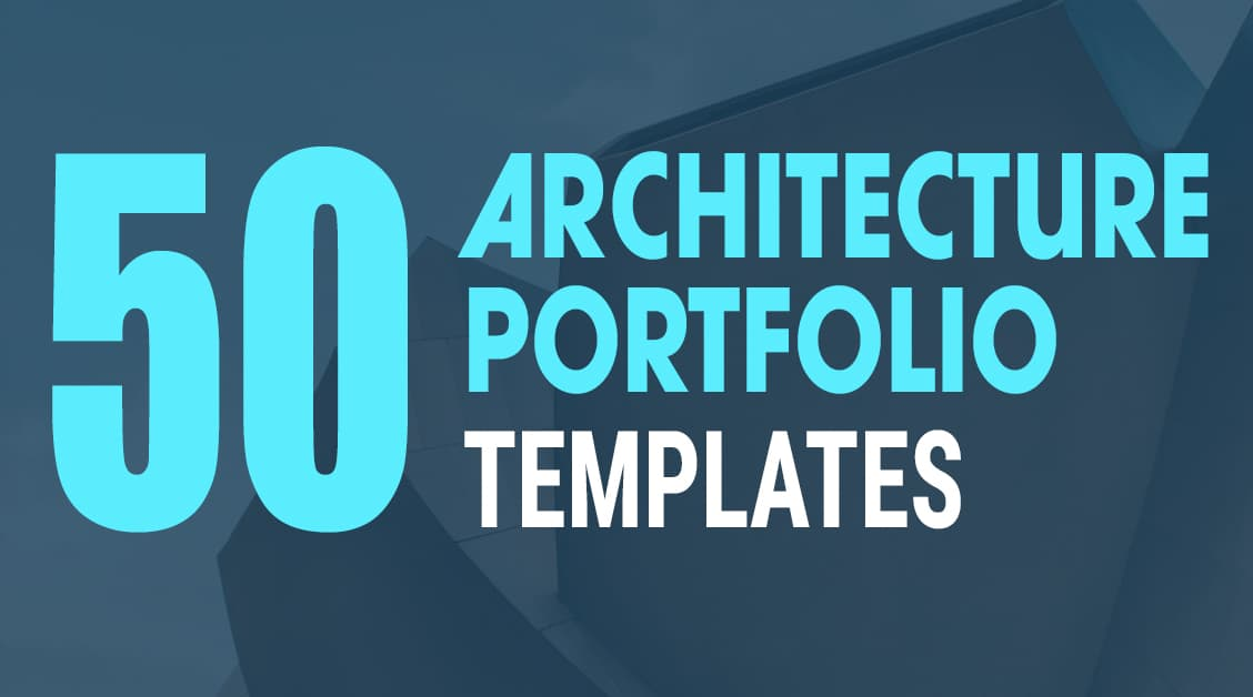 50 Best Architecture Portfolio Templates