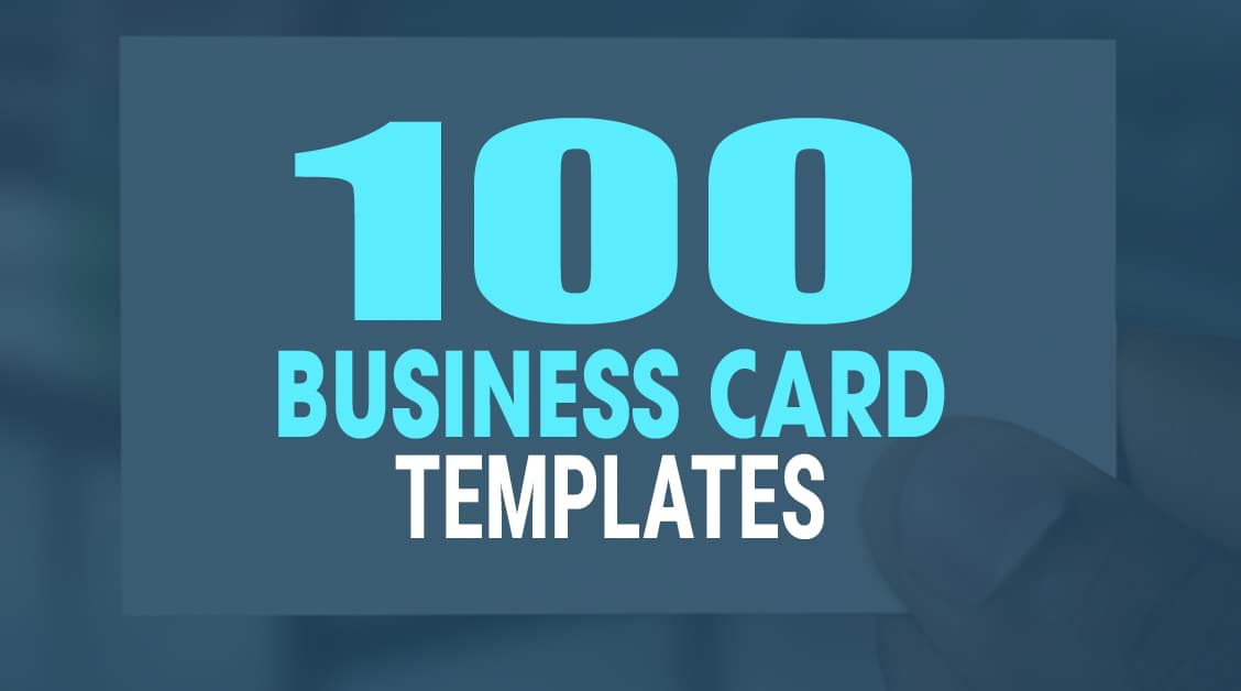 100 Fresh InDesign Business Card Templates