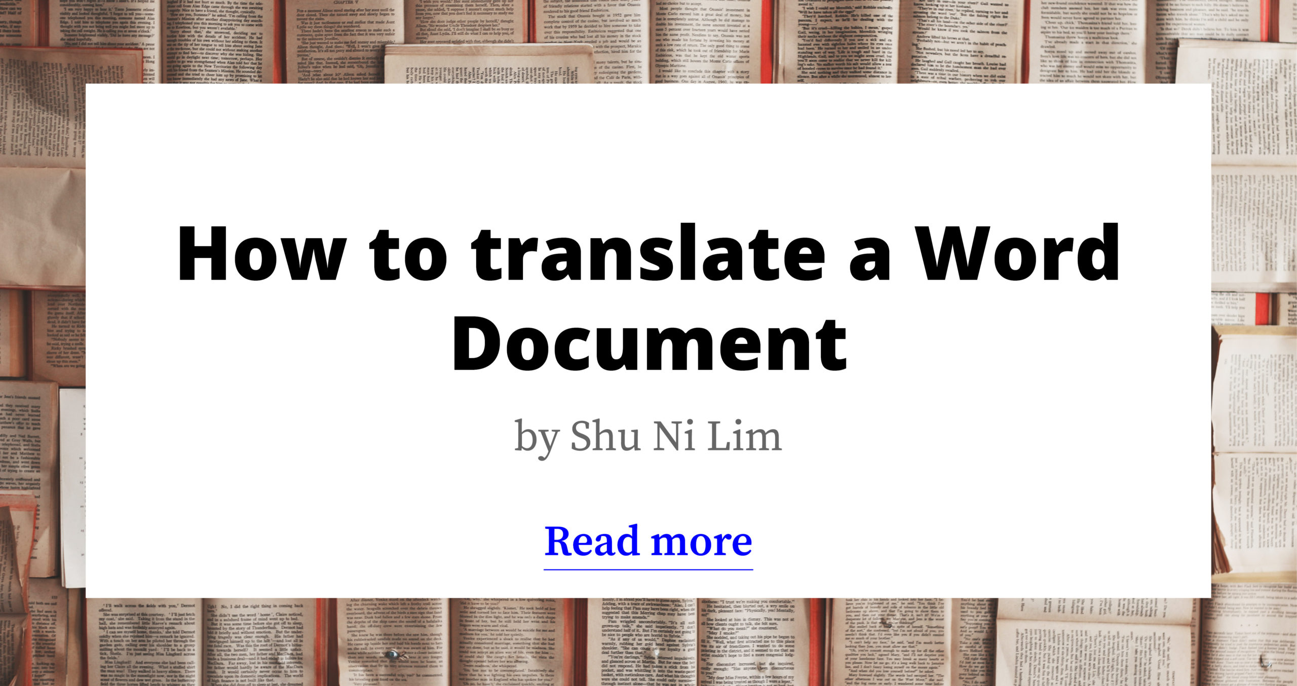 How to Translate a Word Document: 4 Simple Ways
