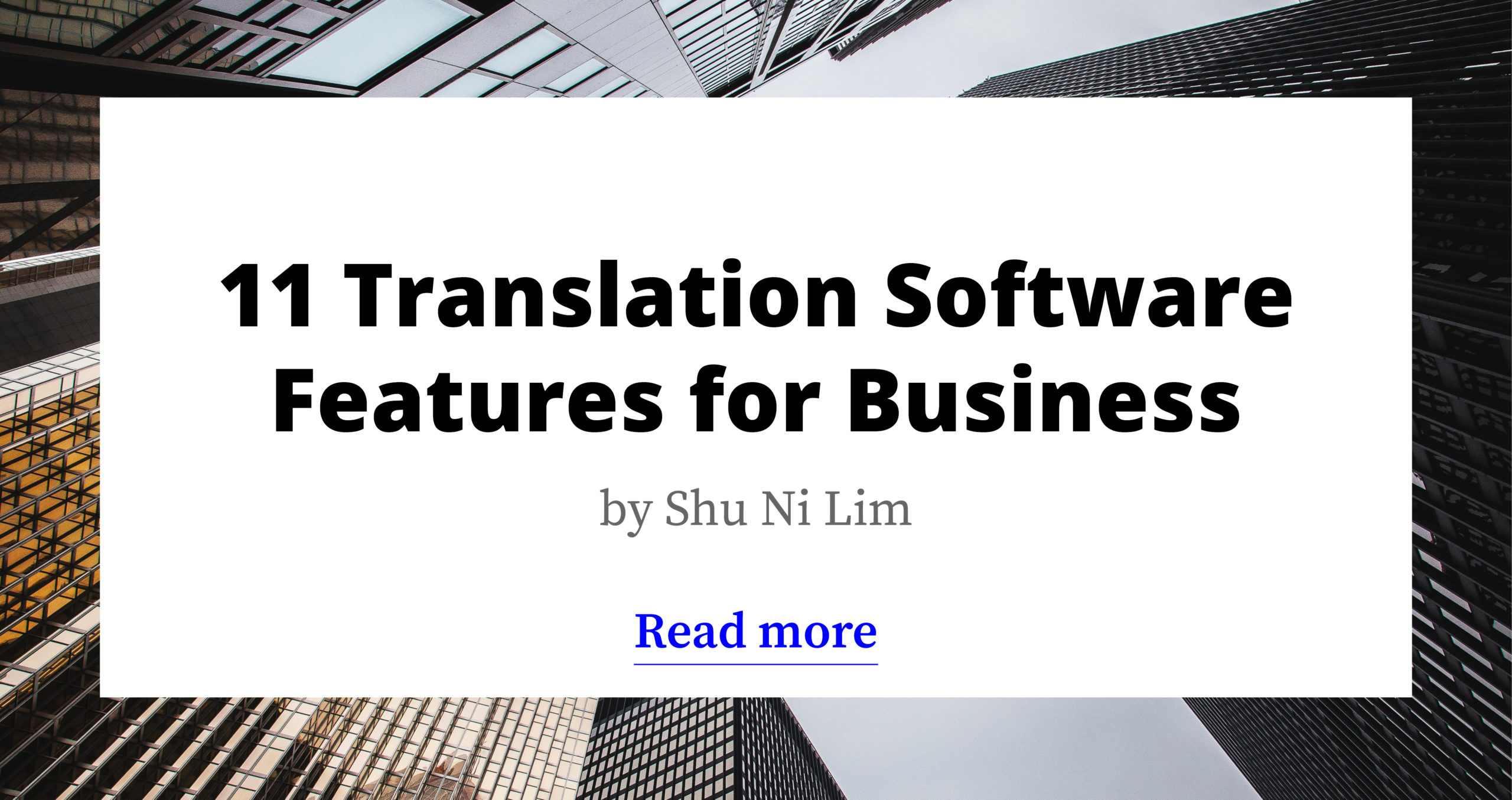 11 Translation Software Features for Business