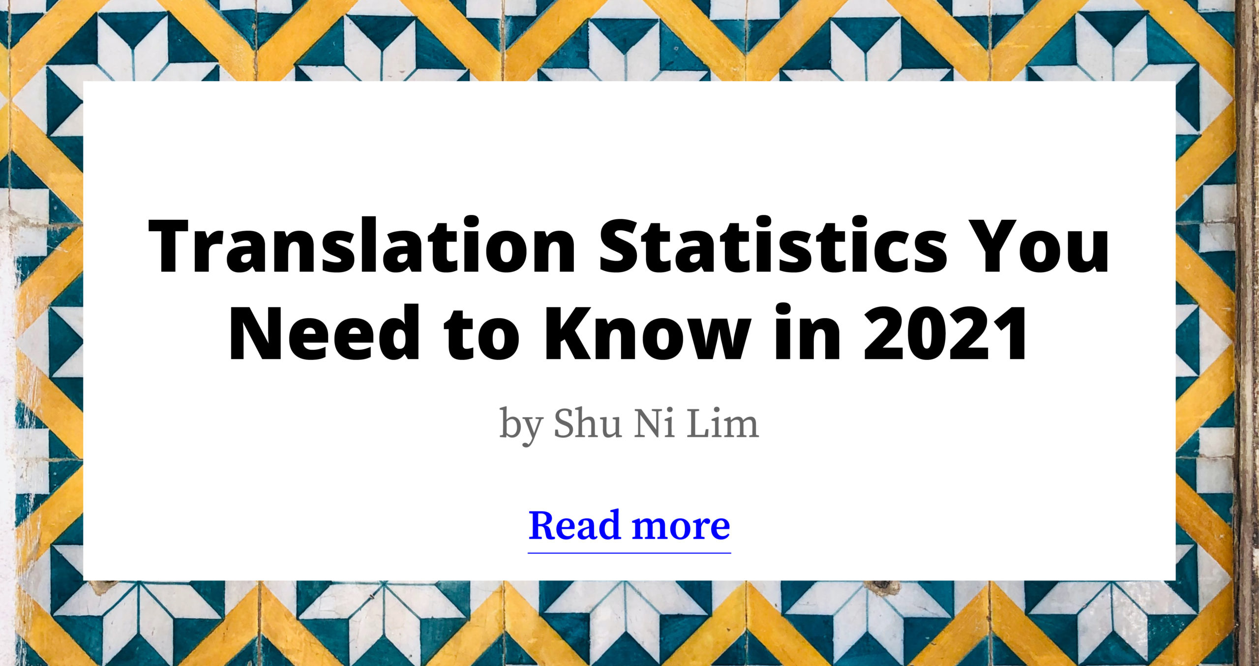 2021 Translation Industry Trends and Stats