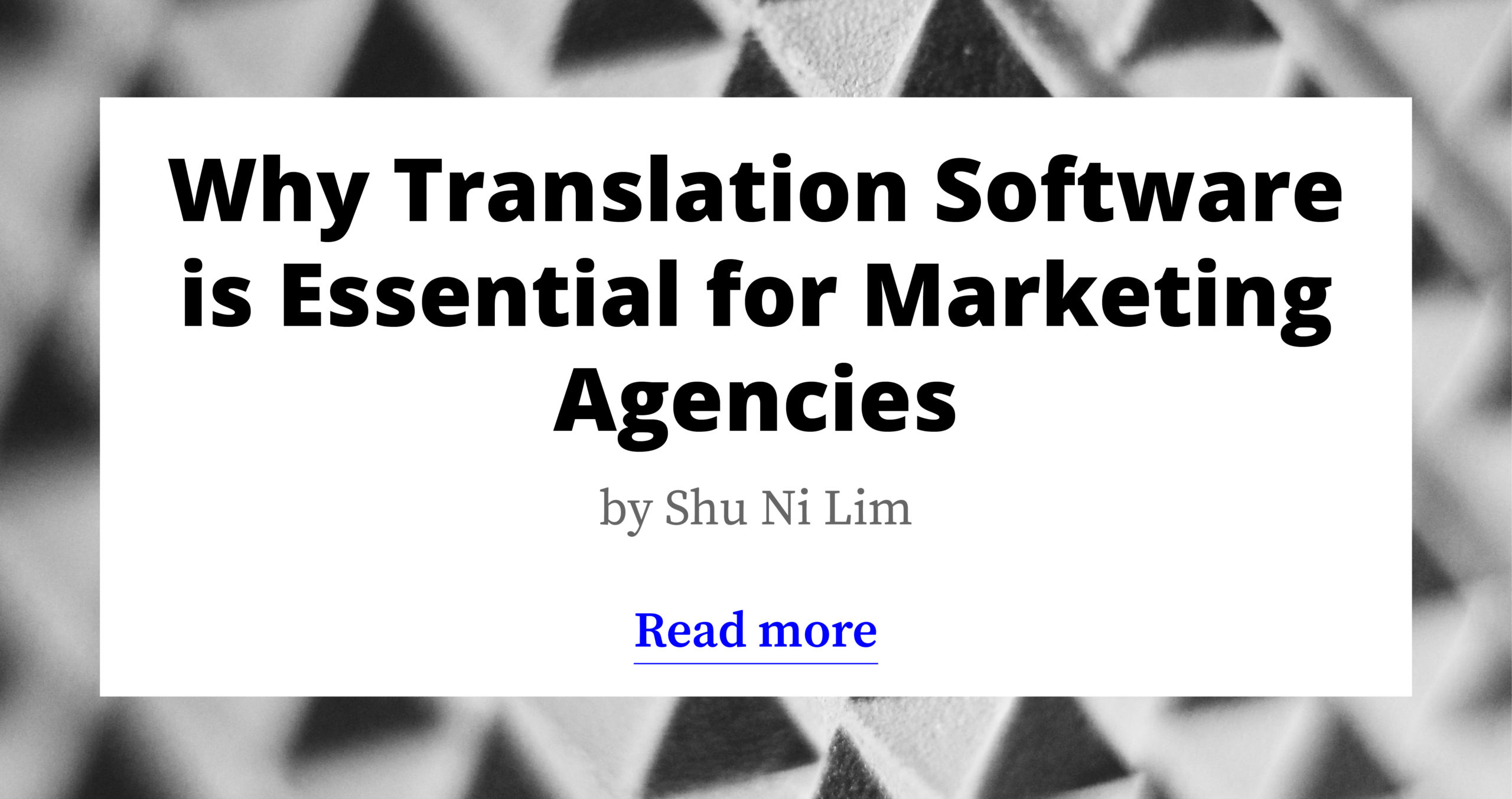 Why Translation Software is Essential for Marketing Agencies